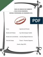 Puentes Colgantes Representativos - Jose Maguiña