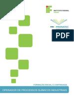 Operador de Processos Quimicos Industriais - PRONATEC 2014