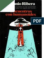 Ribera Antonio - Encuentros Con Humanoides