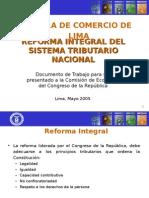 Reforma Tributaria Peru