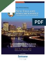 2015 NEHCC Program and Exhibit Guide