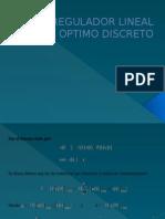 Regulador Lineal Optimo Discreto