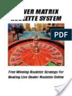 Power Matrix Roulette System