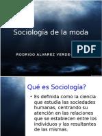 sociología moda