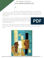 """""""El Texto en Las Artes Plásticas"""""""