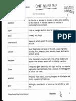 code breaker task vocab sheet