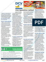 Pharmacy Daily for Fri 15 May 2015 - Pharma reputation ranked, UK NHS Phcy service video, $2b antibiotic research, Events Calendar and much more