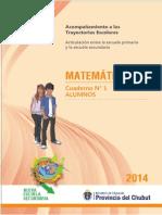 Cuaderno Articulacion Matematica Alumnos