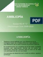 7. Ambliopía