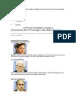 Cuales Son Los Departamentos de La Region Central de Guatemala