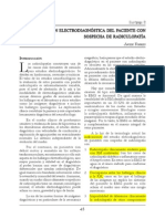 Evaluación en Sospecha de Radiculopatía