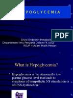K 3 Hipoglicemia