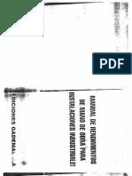 Manual de Rendimientos de Mano de Obra Para Instalaciones Industriales - GADEMAL