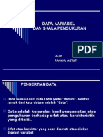 2. Data, Variabel dan Skala Pengukuran.ppt
