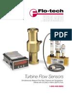 Turbine Flow Sensors