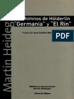 Heidegger, Martin - Los himnos de Hölderlin 'Germania' y 'El Rin'.pdf