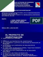 El Proyecto de Investigación y Los Paradigmas