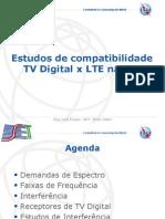 Estudos de Compatibilidade TV Digital x LTE na UIT