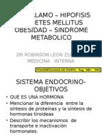 Fisiologia - Hipotálamo, Hipófisis, Diavetes Mellitus, Obesidad y Síndrome Metabólico