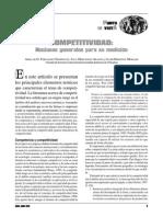 Competitividad Nociones Generales Para Su Medicion