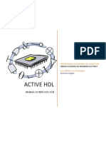 Manual de introducción a active HDL