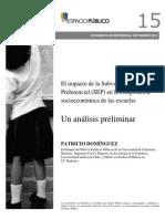Espacio Público - El Impacto de La Subvención Escolar Preferencial en La Composición Socioeconómica de Las Escuelas