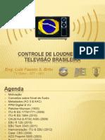 Controle de Loudness na Televisão Brasileira