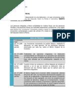 5.3.3 Depreciaciones Fiscales