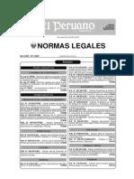 Normas Legales El Peruano 2012