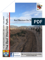The Red Warrior Path 14 MAY 2015