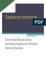Unidad VI - Diagrama de Componentes