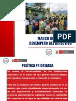 Marco Del Buen Desempeño Del Director