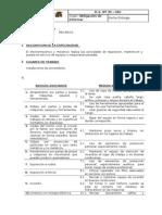 Odi (Obligacion de Informar) Servicios g.V