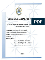 PRACTICA DE CALDERA PIROTUBULAR