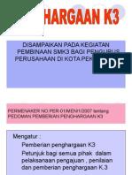 PENGHARGAAN K3..ppt
