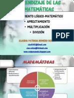 ENSEÑANZA DE LAS MATEMÁTICAS Y PENSAMIENTO LÓGICO