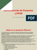 Control de Proyectos Mineros Subterraneos