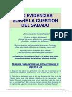 5) 100 EVIDENCIAS SOBRE LA CUESTIÓN DEL SÁBADO