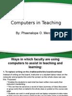 computers in teaching