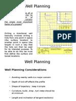 1. Well Planning