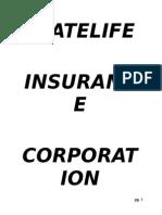 Internship Report on Statelife Insurance Corporation