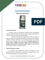 Insecticida Biologico Beauveria Bassiana