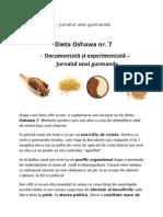 Dieta Oshawa
