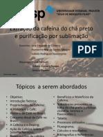 9 - Extração e Purificação Da Cafeína – BAC 2013