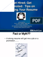 Resume Guide and Sample Resumes