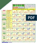 LS Siddhanthy Telugu Calendar 2015 Hindupad.com