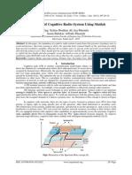 Simulation of Cognitive Radio System Using Matlab
