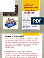 uses of edmodo in language teaching