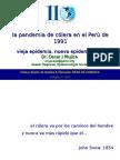 La pandemia de Cólera en el Perú.ppt