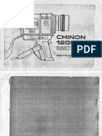 Chinon 1200-SM Direct Sound Instructions